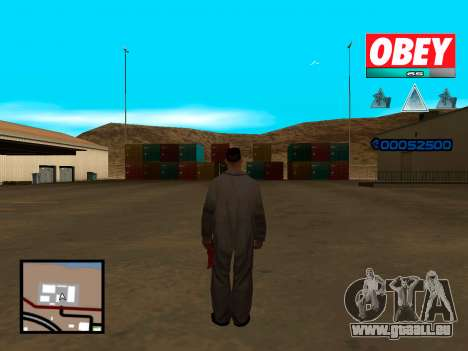 C-HUD Obey pour GTA San Andreas deuxième écran