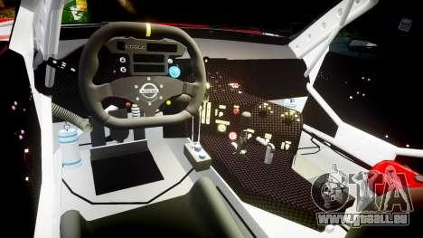 Nissan Skyline R34 2003 JGTC Calsonic pour GTA 4 Vue arrière