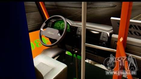 Dodge Ram Microbus pour GTA San Andreas vue de droite