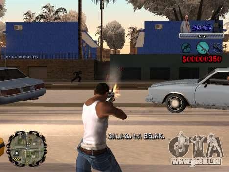 C-HUD Bomj Gang pour GTA San Andreas