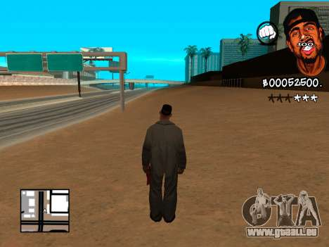 C-HUD WeJack pour GTA San Andreas