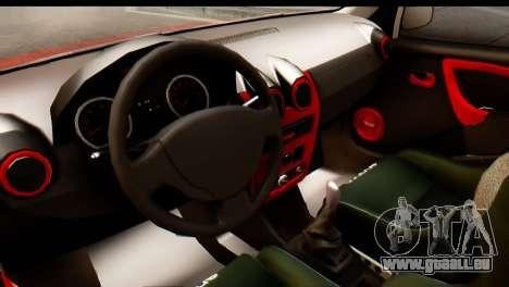 Dacia Logan MXP für GTA San Andreas rechten Ansicht
