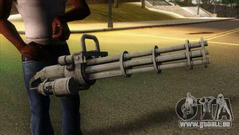 Minigun from GTA 5 für GTA San Andreas dritten Screenshot