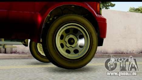 GTA 5 Vapid Sadler IVF pour GTA San Andreas sur la vue arrière gauche