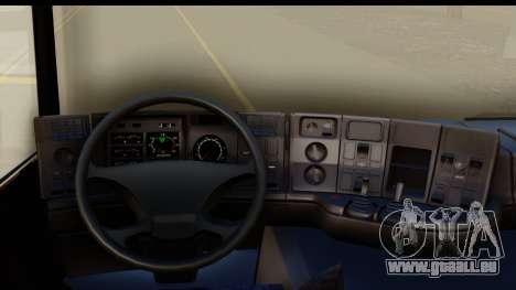 Scania P340 pour GTA San Andreas vue intérieure
