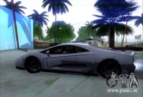 Scalfati GT (Watch Dogs) pour GTA San Andreas vue intérieure