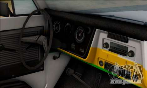 Chevrolet C10 1972 Policia pour GTA San Andreas vue de droite