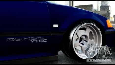 Honda Civic 4gen JDM pour GTA San Andreas vue intérieure