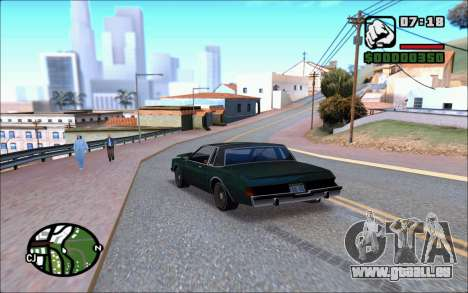 Ivy ENB June pour GTA San Andreas quatrième écran