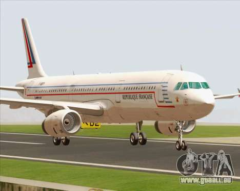 Airbus A321-200 French Government für GTA San Andreas