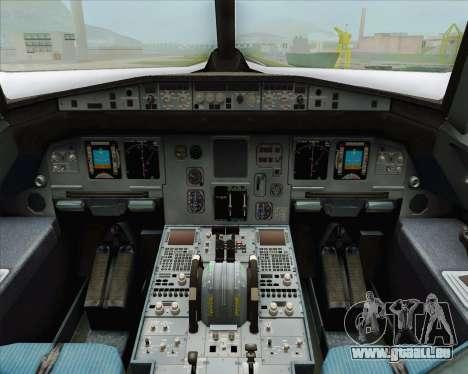 Airbus A320-200 LAN Argentina für GTA San Andreas rechten Ansicht