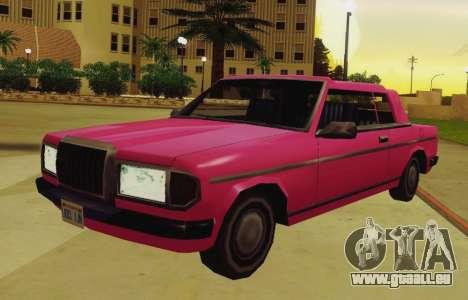 Admiral Cabriolet v3.0 für GTA San Andreas