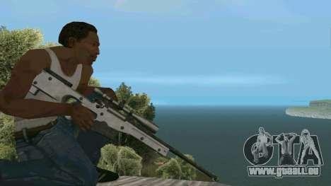 Metall AWP L96A1 für GTA San Andreas dritten Screenshot