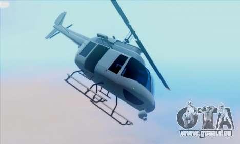 GTA 5 Maverick pour GTA San Andreas laissé vue