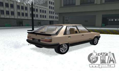 Renault 11 Turbo Phase I 1984 für GTA San Andreas linke Ansicht