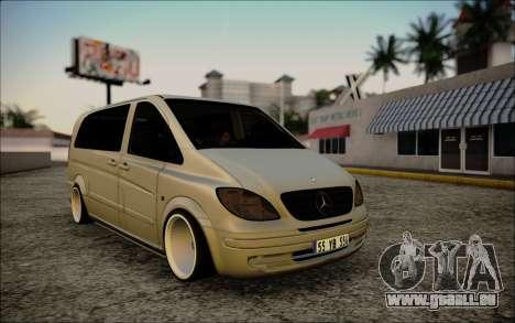 Mercedes-Benz Vito für GTA San Andreas