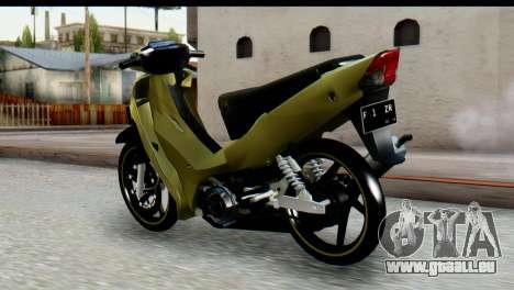 Yamaha F1ZR Stock für GTA San Andreas linke Ansicht