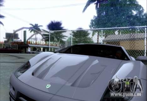 Scalfati GT (Watch Dogs) pour GTA San Andreas vue arrière