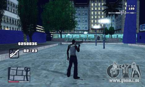 C-HUD GTA 4 with Map für GTA San Andreas