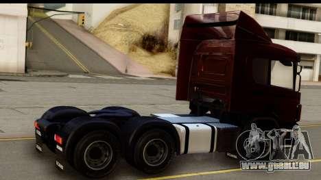 Scania P340 pour GTA San Andreas laissé vue