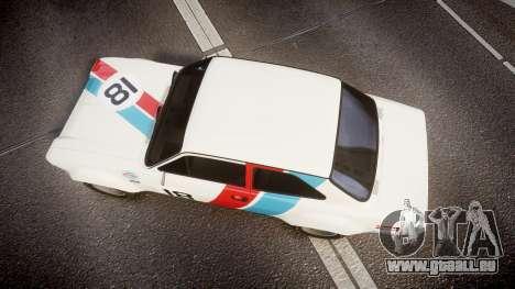 Ford Escort RS1600 PJ18 pour GTA 4 est un droit