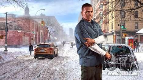 L'hiver écrans de démarrage pour GTA 4 septième écran