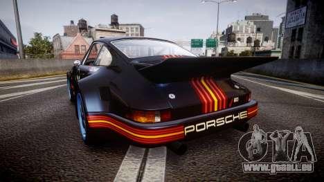 Porsche 911 Carrera RSR 3.0 1974 PJ210 pour GTA 4 Vue arrière de la gauche