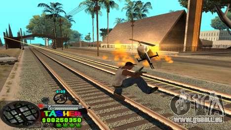 C-HUD Tasher pour GTA San Andreas sixième écran