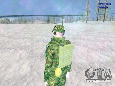 Die airborne Funker für GTA San Andreas fünften Screenshot