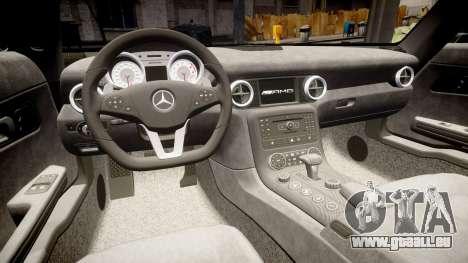 Mersedes-Benz SLS AMG 2010 für GTA 4 Seitenansicht