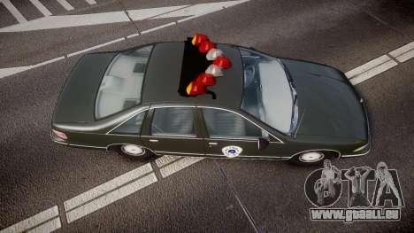 Chevrolet Caprice 1993 Detroit Police pour GTA 4 est un droit