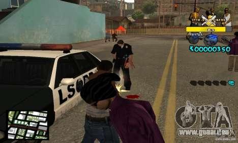 Tawer Getto HUD für GTA San Andreas dritten Screenshot