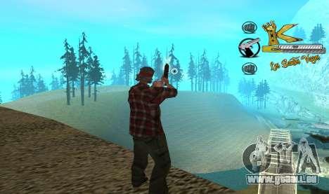 C-HUD Vagos pour GTA San Andreas deuxième écran