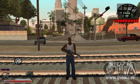 Magnifique C-PALETTE pour GTA San Andreas troisième écran