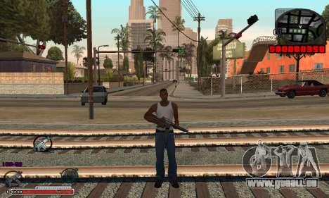 Schöne C-HUD für GTA San Andreas dritten Screenshot