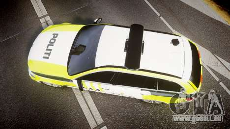 BMW 530d F11 Norwegian Police [ELS] pour GTA 4 est un droit