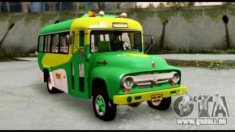 Ford Bus 1956 für GTA San Andreas rechten Ansicht