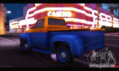 Vapid Slamvan (GTA V) pour GTA San Andreas laissé vue
