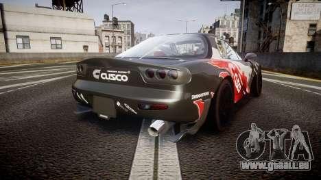 Mazda RX-7 für GTA 4 hinten links Ansicht