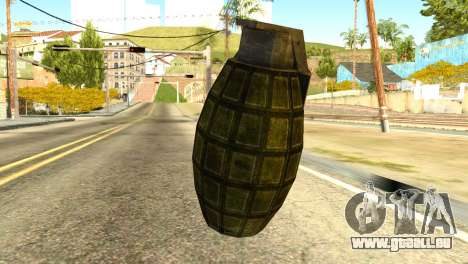 Grenade from Global Ops: Commando Libya für GTA San Andreas zweiten Screenshot