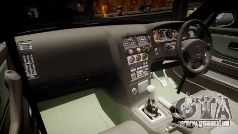 Nissan Skyline BCNR33 JUN VER 1995 v2.0 pour GTA 4 est une vue de l'intérieur