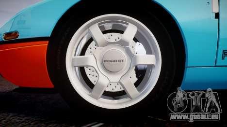 Ford GT 2005 [EPM] Gulf für GTA 4 Rückansicht