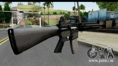M4A1 from State of Decay für GTA San Andreas zweiten Screenshot