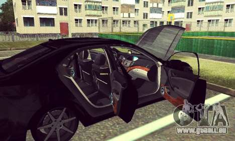 Honda Accord Type S 2008 LT für GTA San Andreas linke Ansicht