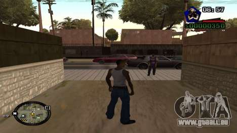 C-HUD by Kidd pour GTA San Andreas