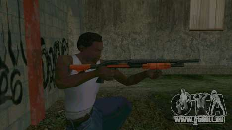 Orange Shotgun pour GTA San Andreas