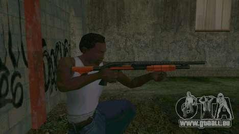 Orange Shotgun pour GTA San Andreas