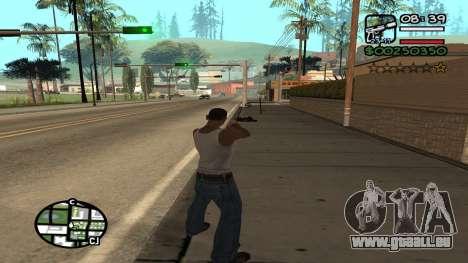 C HUD King Ghetto Life für GTA San Andreas dritten Screenshot