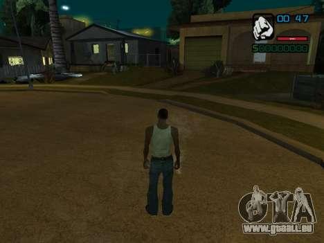 Numerische Anzeige HP für GTA San Andreas dritten Screenshot