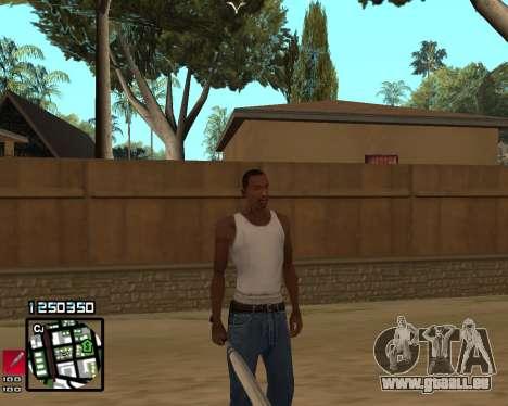 C-HUD Compact pour GTA San Andreas troisième écran